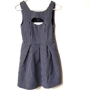 Fora polka dot mini dress size xs